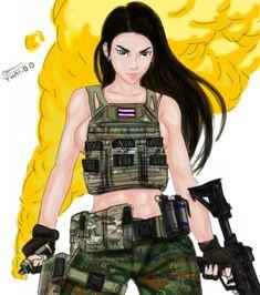 Army of Thailand /anime/2018