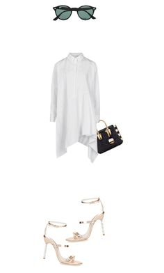 """""""Untitled #2145"""" by misnik ❤ liked on Polyvore featuring MCM, Ray-Ban, Marques'Almeida, Sophia Webster, women's clothing, women, female, woman, misses and juniors"""