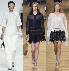 Spring/ Summer 2015 Fashion Trends: Shirts With Stylish Collars|www.fashionisers.com #2015fashiontrends