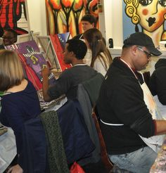 Come join us at Creative Art Connection for a day or night of fun, drinks, and art!