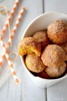 Donut holes au potimarron & aux épices