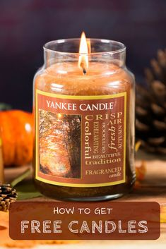 Free Yankee and Glade candles now at Get It Free!