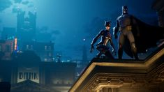 Polygon - Batman's Fortnite crossover is official, underway now: Epic Games Tilted Towers turns into Gotham for the next two… - View Gotham City, Batman Cape, Batman Suit, Dc Comics, Batman Comics, Crossover, Assassin, Gotham News, Catwoman Comic