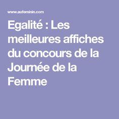 Egalité : Les meilleures affiches du concours de la Journée de la Femme