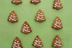 gingerbread cookie trees