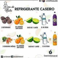 #detox_brasil #cardápio #receitas #sucos #sucodetox #comersemsofrer #xôgordura #zerogordura #alimentação #alimentaçãosaudável #saudavel… Low Carb Recipes, Diet Recipes, Vegan Recipes, Healthy Life, Healthy Eating, Dietas Detox, Light Diet, At Home Workout Plan, Drink Recipes