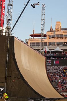 X Games Skateboarding Pictures: Edgard Pereira competes in Skateboard Big Air at Summer X Games