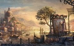 Anno 1404 Venice HD Wallpaper for UHD Widescreen desktop & smartphone Painting People, Artist Painting, Painting & Drawing, Acrylic Painting Canvas, Canvas Wall Art, Banners, 2560x1440 Wallpaper, Venice Painting, Metal Tree Wall Art