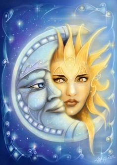 moon and sun - Google Search