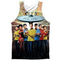 """Checkout our #LicensedGear products FREE SHIPPING + 10% OFF Coupon Code """"Official"""" Star Trek/original Crew -adult 100% Poly Tank T- Shirt - Star Trek/original Crew -adult 100% Poly Tank T- Shirt - Price: $24.99. Buy now at https://officiallylicensedgear.com/star-trek-original-crew-adult-100-poly-tank-t-shirt-licensed"""