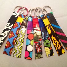 Duct Tape Key Chains