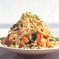 Htc pad thai noodles with shrimps