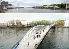 Nine Elms Bridge Competition, London