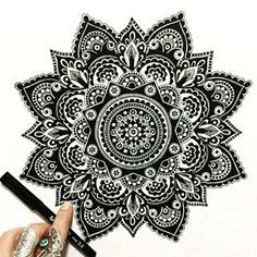 I've mastered the art of imperfection perfectly! #drawing #doodle #doodleart #doodling #mandala #pattern #design #paper #pen #artline #black #ink #tattoo #art #myart #boho #gypsy #hippy #hippie #inspired #sketch #wip #beautiful_mandalas