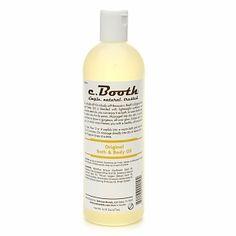 C.Booth Original bath & Body Oil review