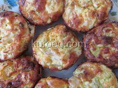 Капустно-кабачковые котлеты с сыром, запеченные в духовке