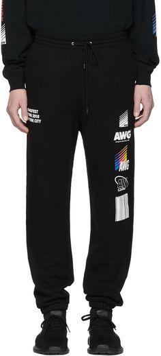 Alexander Wang - SSENSE Exclusive Black Sponsored Lounge Pants