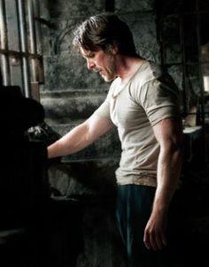 TDKR: Christian Bale as Bruce Wayne