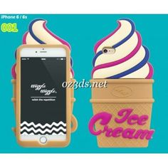 Cute Flamingos sunflower ice cream applied on shell can make your iphone more fashion and lovely. It suitable for  iphone 6/6S, iphone 6/6S plus.