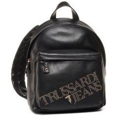 Σακκίδιο TRUSSARDI JEANS - 75B00909 M250 - Πλάτης - Τσάντες | epapoutsia.gr Jean Backpack, Fashion Backpack, Backpacks, Bags, Handbags, Taschen, Women's Backpack, Purse, Purses