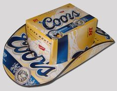 fd6ca796e81 Some Decent Cowboy Hats Made From Beer Boxes. Beer Box HatLight ...