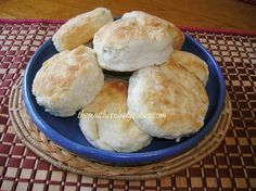 MAMA'S CATHEAD BISCUITS:  I grew up eating these biscuits as well.  It's time I get busy learning how to make them :)!  My grandma's would be proud.
