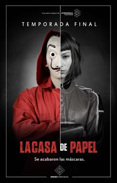 La Casa de Papel: best images and posters of the Spanish series - - Series Movies, Movies And Tv Shows, Tv Series, Stranger Things Aesthetic, Cast Stranger Things, Tv Spielfilm, Bon Film, Film Serie, Dali