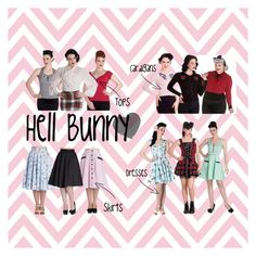 """""""Hell Bunny Brand"""" by bluebanana on Polyvore featuring Hell Bunny"""