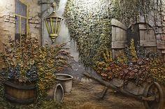 Дворик - Скульптура и лепка - Лепные панно и барельефы