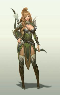 f High Elf Ranger Longbow community forest hills