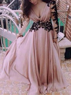 Pink Maxi Slit Elegant Dress With Detailed Long Sleeve Lace sold by Outletpad. Shop more products from Outletpad on Storenvy, the home of independent small businesses all over the world. Prom Dresses With Sleeves, Maxi Dresses, Wedding Dresses, Pink Dresses, Party Dresses, Lace Wedding, Long Sleeve Maxi, Dress Silhouette, Dress With Bow