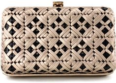Ferragamo Gold Frame Clutch- I can't describe how much I am lusting about this one!