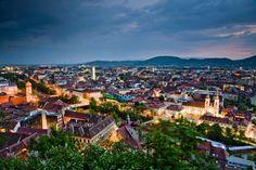 The Places Youll Go, Places To Visit, Graz Austria, Central Europe, Capital City, Alps, Where To Go, Paris Skyline, Dolores Park