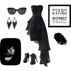 Darkness by mayse-locker on Polyvore