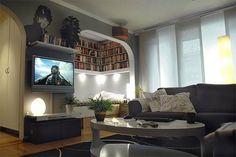 DIY Project : Beautiful DVDs/Books Storage Idea