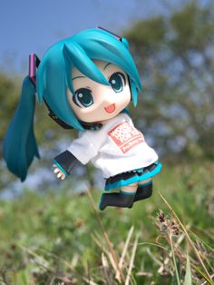 """Jump!"" Hatsune Miku figure photo by reonov #Hatsune Miku #figure"