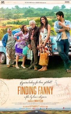 Check out the 2nd Official poster of #FindingFanny.  Ready for this crazy? Don't forget - trailer out tmrw morning. #FindingFanny #Poster #DeepikaPadukone #ArjunKapoor #NaseeruddinShah #DimpleKapadia #PankajKapur