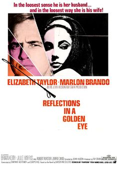 Reflections In A Golden Eye (1967) - Elizabeth Taylor, Marlon Brando, Brian Keith, Julie Harris