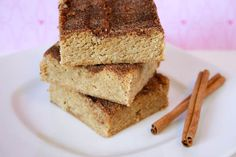 Bakergirl: Snickerdoodle Blondies.
