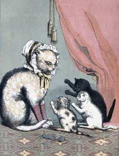 From Three Little Kittens (1857) For the first Feline Friday of the school year we...