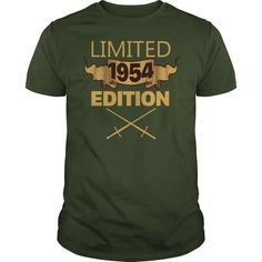 Limited 1954 Edition T Shirt Funny Birthday Gifts 63 Years Old #gift #ideas #Popular #Everything #Videos #Shop #Animals #pets #Architecture #Art #Cars #motorcycles #Celebrities #DIY #crafts #Design #Education #Entertainment #Food #drink #Gardening #Geek #Hair #beauty #Health #fitness #History #Holidays #events #Home decor #Humor #Illustrations #posters #Kids #parenting #Men #Outdoors #Photography #Products #Quotes #Science #nature #Sports #Tattoos #Technology #Travel #Weddings #Women