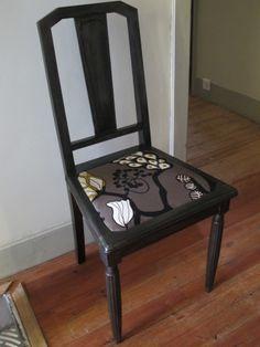 rénovation d'une vieille chaise Instructions de...