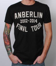 Anberlin Final Tour Shirt