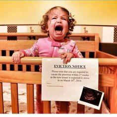 Drôles de moyens d'annoncer une grossesse hihi!