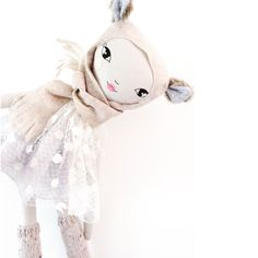 Lola Doll 75cm, Teddy Bear Girl - These Little Treasures
