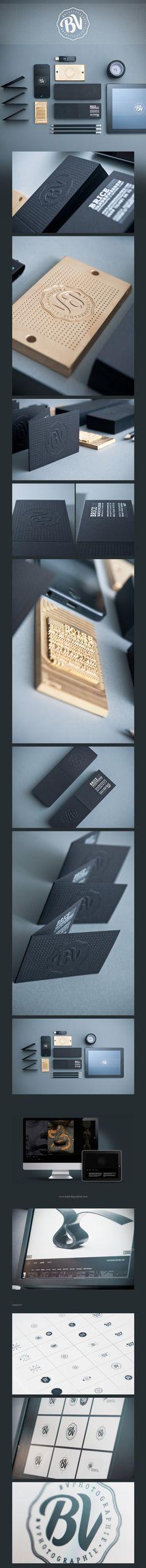 Brice Vandermeeren identity | Designer: Ink Studio | #stationary #corporate #design #corporatedesign #identity #branding #marketing repinned by www.BlickeDeeler.de | Visit our website: www.blickedeeler.de/leistungen/corporate-design