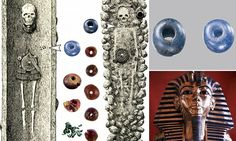 Blue beads unearthed in an ancient Ølby grave, south of Copenhagen, match material from Amarna in Egypt and Nippur in Mesopotamia, revealing trade routes 3,400 years ago.