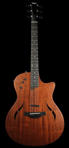 TAYLOR T5-X Classic Electric Guitar Ovangkol | The Music Zoo