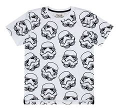 FASW23 Men's Stormtrooper Repeat Print T-Shirt - Star Wars - Fabric Flavours
