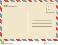 postcard back - Google Search | New Address Announcement Ideas ...